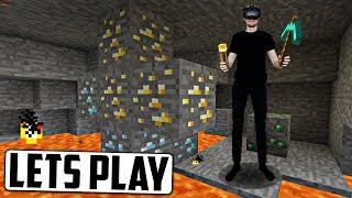 Pelataan Minecraftia virtuaalisessa todellisuudessa!