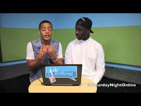 Nico And Vinz Answers Questions on Snol w/ Romeo  - AskAnythingChat