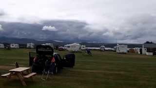 Gairloch, caravan snd camping park.