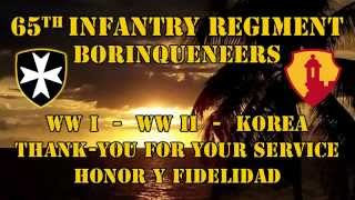 Naming of the 65th Infantry Regiment Borinqueneer