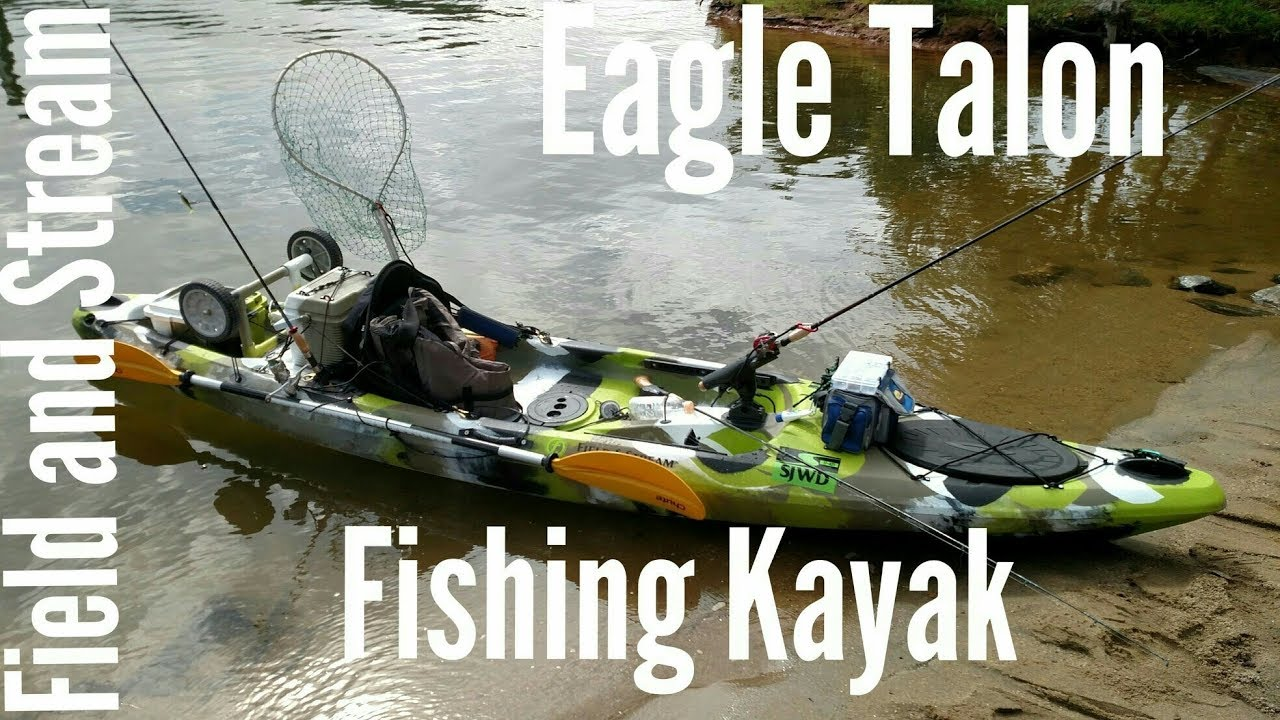 Field And Stream 12 Eagle Talon Kayak My Setup Youtube