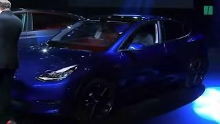 La Tesla Model Y dévoilée par Elon Musk