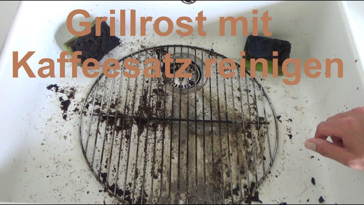 grillrost reinigen mit kaffeesatz grillrost mit kaffeesatz. Black Bedroom Furniture Sets. Home Design Ideas