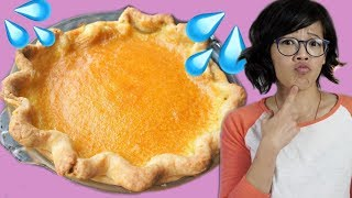 HOT WATER Desperation Pie | HARD TIMES - recipes from times of scarcity