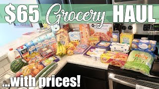$65 Walmart Grocery Haul | Restocking After Vacation