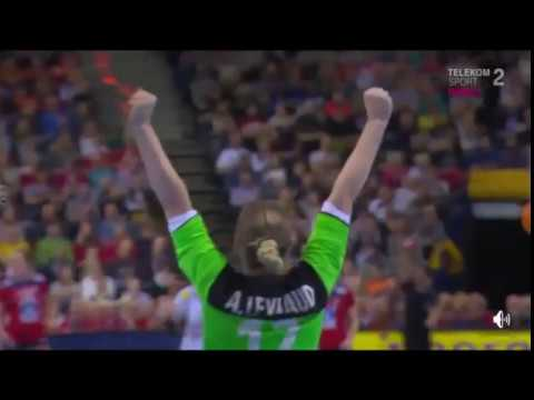 Norway - France first half women handball Germany 2017