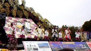 2011/11/06 弘前城菊と紅葉まつり「りんご娘&アルプスおとめLIVE」(弘...