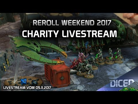 Reroll Weekend- Charity Livestream | DICED