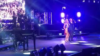 Celine Dion and John Farnham. You're the voice. Rod Laver Arena 2018