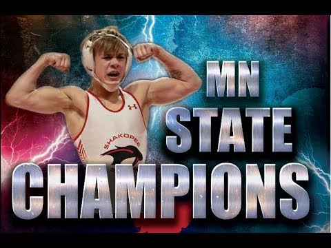 2019 MN STATE CHAMPIONS: Shakopee Wrestling Highlight Video (Part 3)