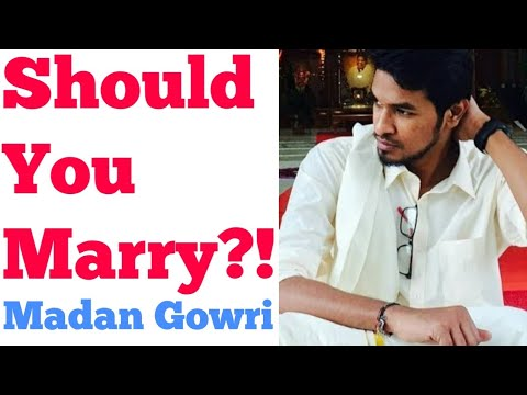 Should we Marry?! | Tamil | Madan Gowri | MG | Marriage