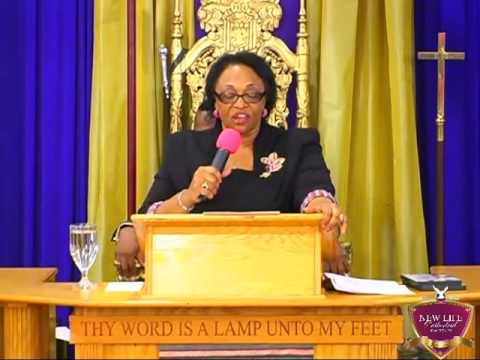Bishop Jacqueline McCullough   The Only Safe Place