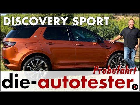 2019 Land Rover Discovery Sport R-DYNAMIC S MJ 2020 - Test Probefahrt Preis Verbrauch Review Deutsch
