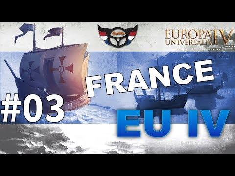 EU4 France - Big Blue Blob Achievement Run - ep3