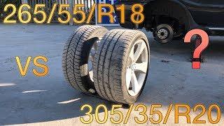 Как размер колес влияет на разгон? (H-Auto)