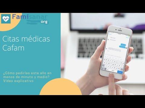 Citas médicas Cafam ¿Cómo pedirlas este año? explicado en menos de 1 minuto y 30 segundos.