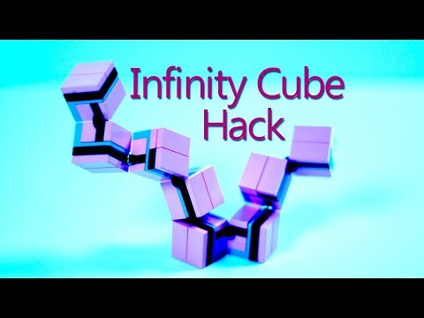 Simple LEGO Infinity Cube Hack - Turn your Infinity Cube into a LEGO Tangle Toy