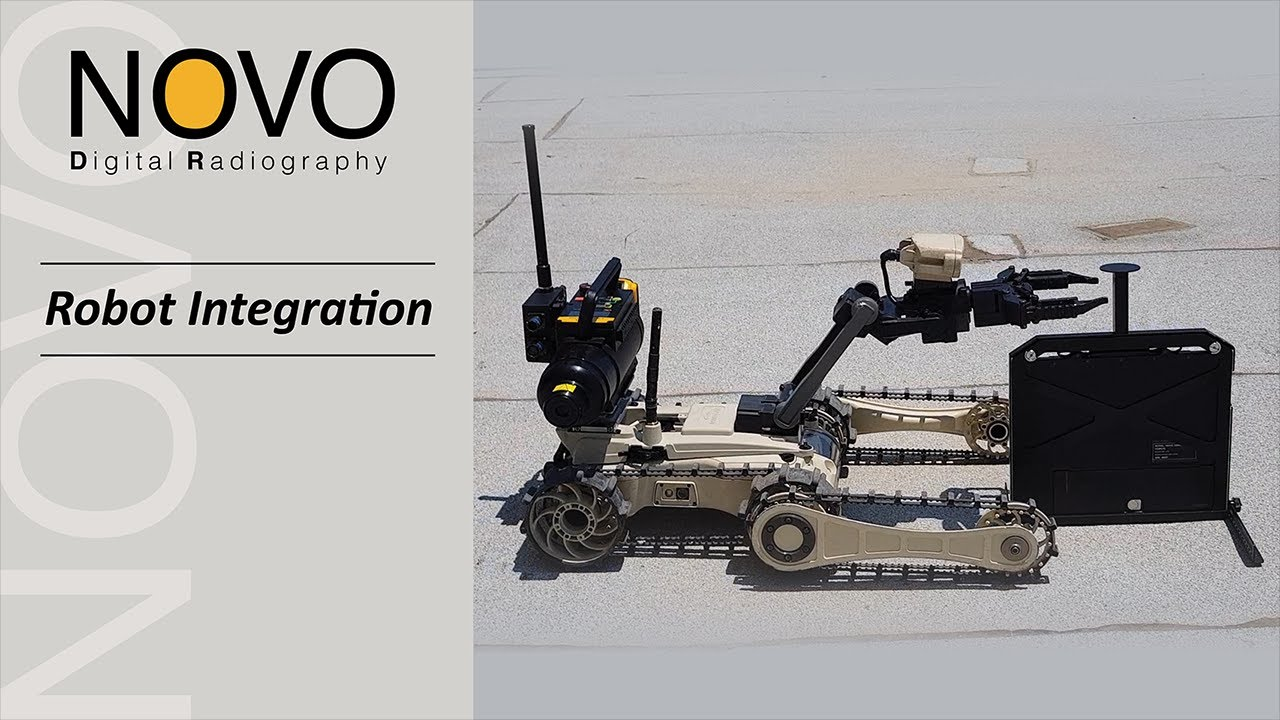 NOVO X-Ray Integration with EOD Robots!
