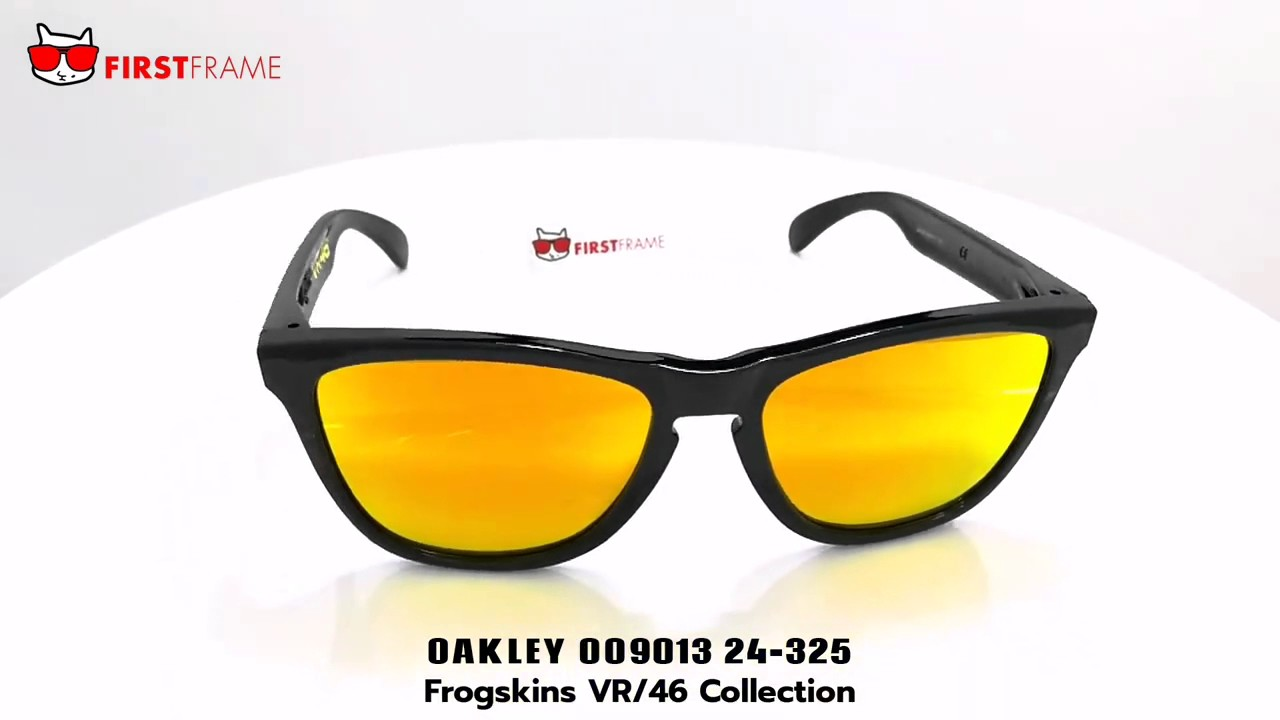 OAKLEY FROGSKINS OO9013 24-325 VR 46 Collection - YouTube bc6560650b
