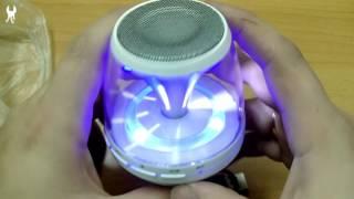 Bluetooth колонка с подсветкой M-28 Noname(Пришло много колонок, постепенно выкладываю видео, эта первая. После распаковок колонок будет видео с тесто..., 2016-01-13T11:06:04.000Z)