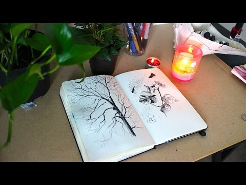 Ink Sketching + Artists that inspire me | Sketchbook Sunday #31