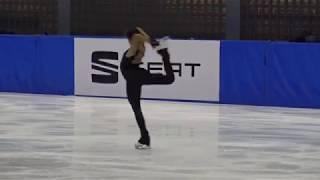 Ivett Tóth, SP - 2018 Tesztverseny (Test Competition)