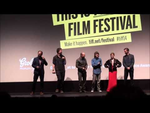 THE GUEST Midnight Madness Premiere Q&A Adam Wingard Simon Barrett Maika Monroe Dan Stevens