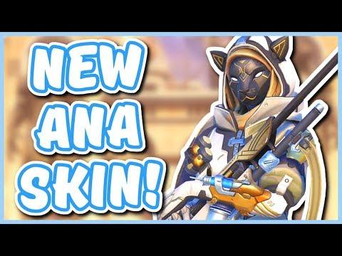 Overwatch - NEW ANA SKIN (New Overwatch Lore Event?!) thumbnail