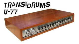 HANUS TRANSIDRUMS U-77 - VINTAGE RHYTHM BOX 1975 | HQ DEMO
