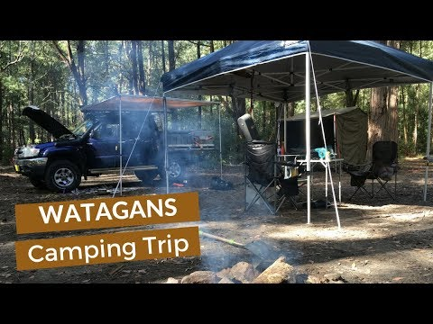 FREE Camping In The Wilderness Near Sydney