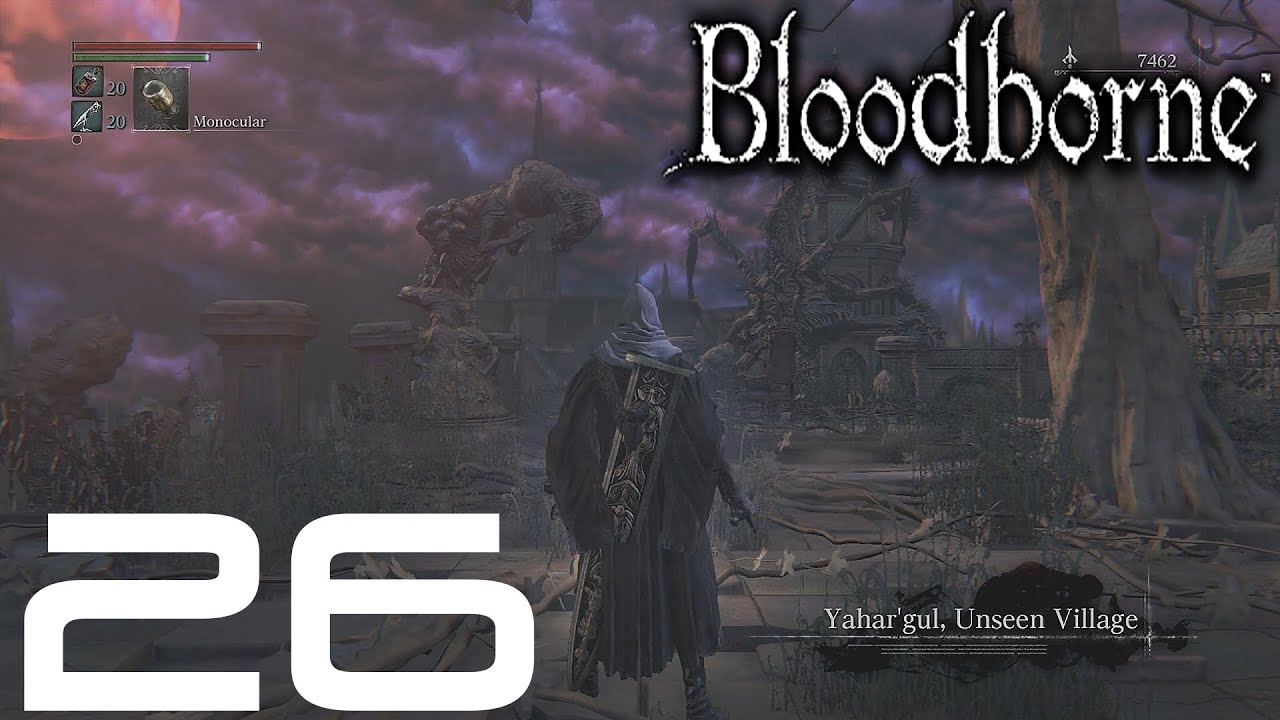 How to get to Yahar'gul, The Unseen Village in Bloodborne ...