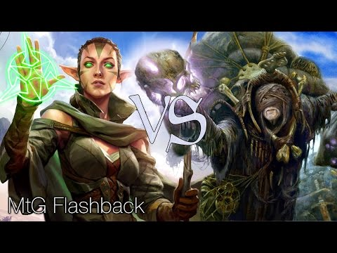 MtG Modern Flashback Episode 3 - Seasoned Walkers VS Waste Not Storm