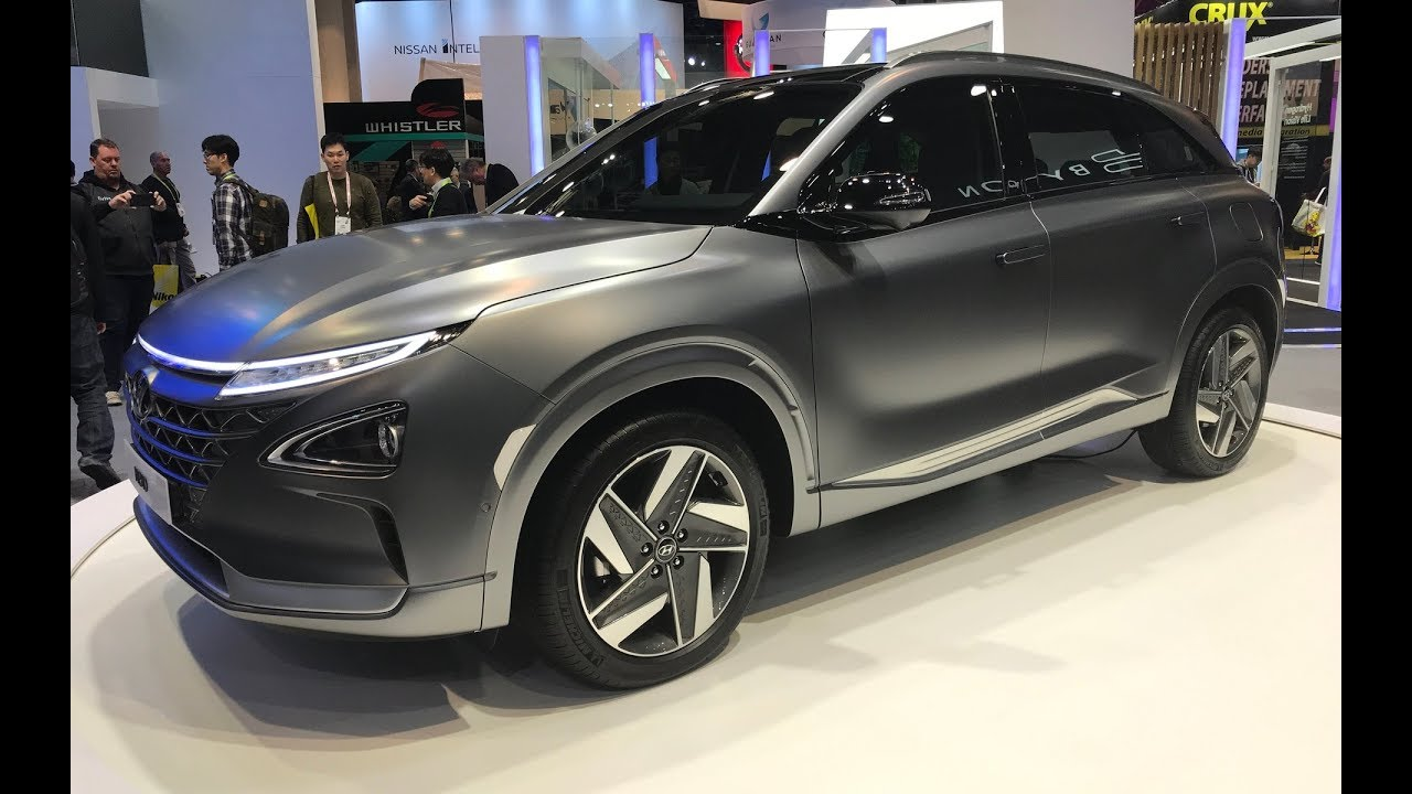 2018 Hyundai Nexo Hydrogen Fuel Cell Electric Suv Full Review