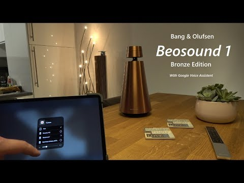 B&O Beosound 1 Bronze Edition With GVA Sound Test ''Beats'' Part 1 Of Many