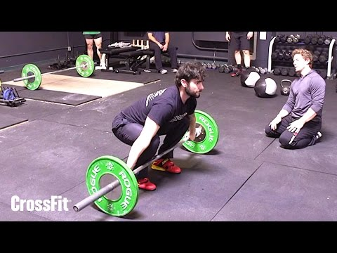 Fixing the Set-up Position in the Snatch