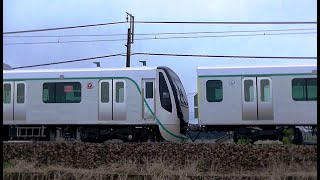 東急電鉄田園都市線用2020系 甲種輸送9788レ EH200-8牽引