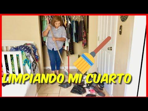 LIMPIANDO MI CUARTO/VLOGS DIARIOS -LupeyJose Vlogs En Español