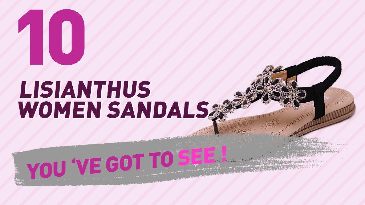 a252889c70db85 Lisianthus Women Sandals    New   Popular 2017 - YouTube