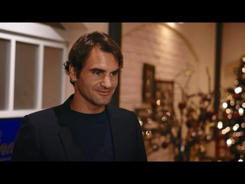 """Roger Federer & LINDT: """"My hands are shaking"""""""