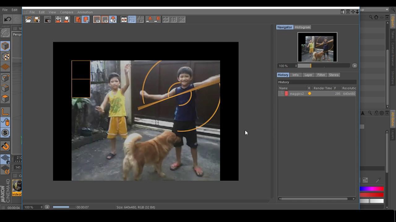 Part 3 of 8 EdiotTV Doctor Strange VFX tutorial using Cinema 4d