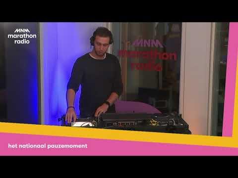 Marathonradio Nationaal Pauzemoment DJ Nobels
