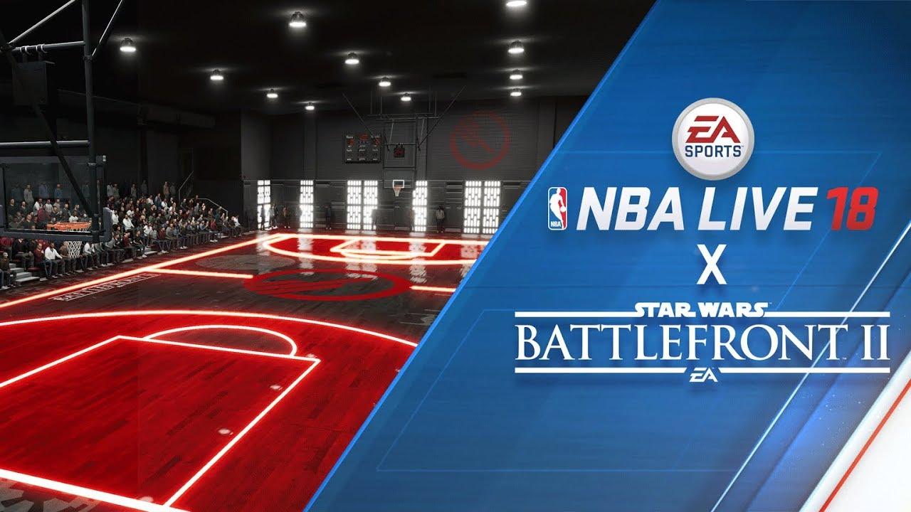 NBA LIVE 18 – Earn Star WarsTM BattlefrontTM II Gear