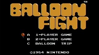 Balloon Fight - NES Gameplay