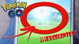 TRICK HOW TO GET ALWAYS EXCELLENT SHOTS in Pokémon GO !!! [Keibron]