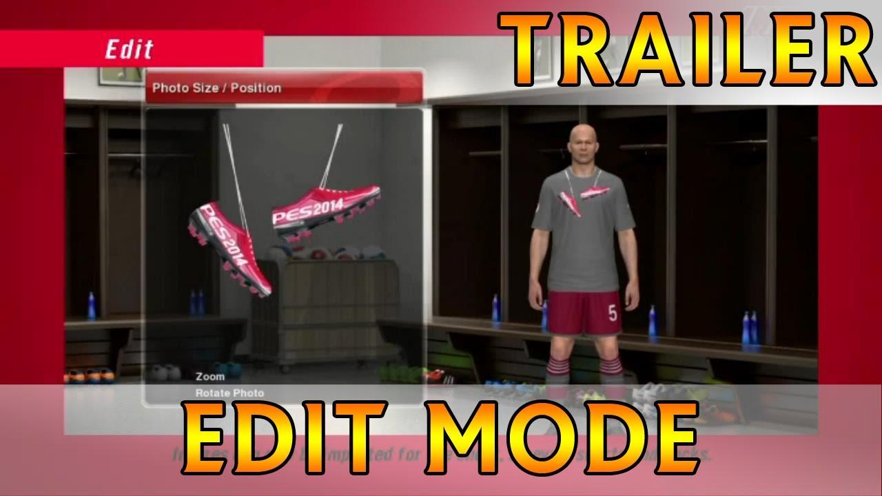 [TTB] [New & Official] PES 2014 - Edit Mode Trailer HD