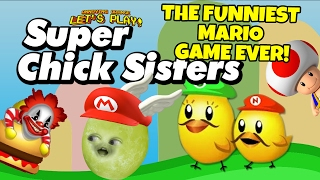 Gaming Grape Plays - Super Chick Sisters: THE FUNNIEST MARIO GAME EVER!