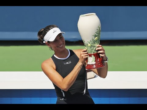 2017 Western & Southern Open Final | Garbiñe Muguruza vs Simona Halep | WTA Highlights