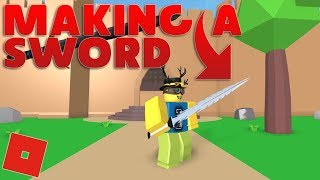 Making a Cool Sword in Blender! Easy Stuff! | Roblox Game Development E5 S2
