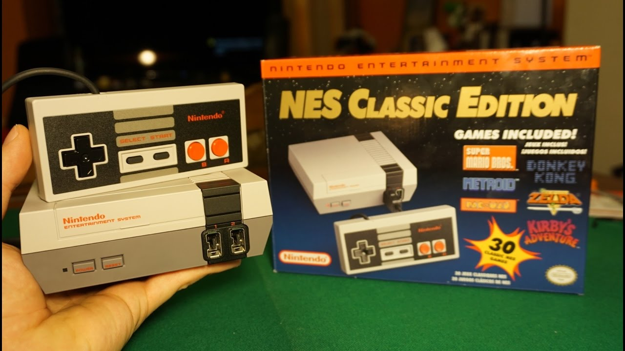 Nes Classic Edition Unboxing Y Prueba De La Mini Nintendo