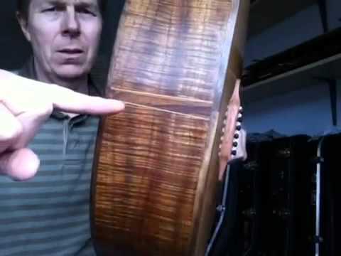 Handmade OM in Tasmanian blackwood by Chris Perkins